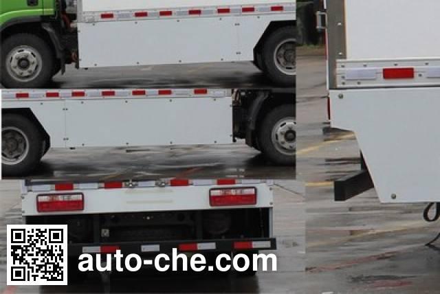 Shacman SX5040XXYBEV7 electric cargo van