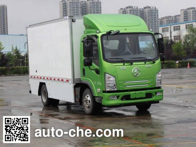 Shacman SX5070XXYBEV4 electric cargo van