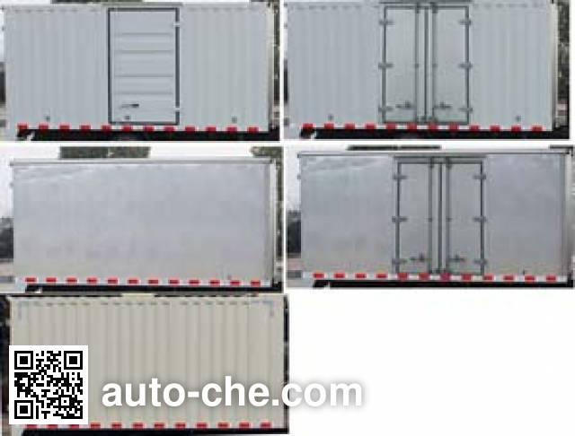 Shacman SX5180XXYMA1D box van truck