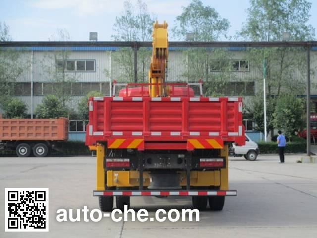 Shacman SX5166JSQGP4 truck mounted loader crane