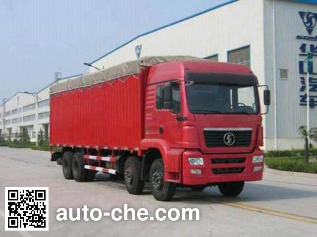 Shacman SX5241GP3PY soft top box van truck