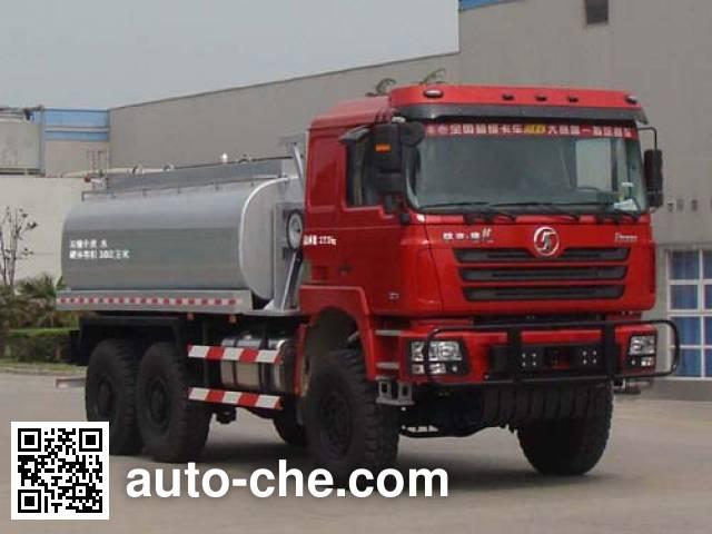 Shacman SX5246TSMGYS desert off-road water tank truck