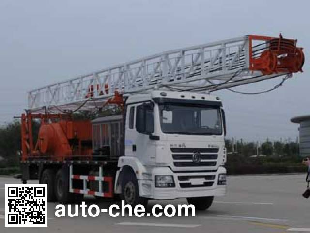 Shacman SX5250TXJ1 well-workover rig truck