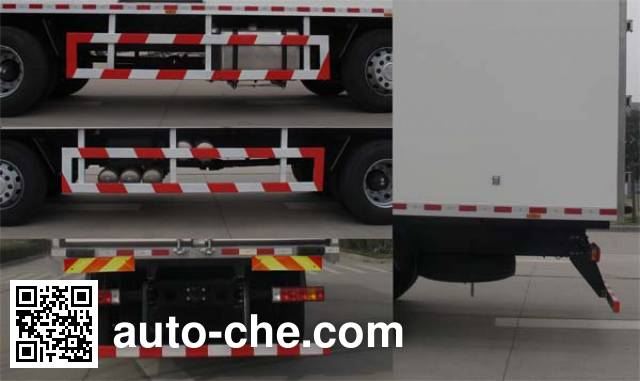 Shacman SX5316XBWGN456 insulated box van truck
