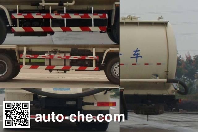Shacman SX5310GFLFB466 low-density bulk powder transport tank truck