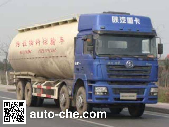 Shacman SX5315GFLNT456 bulk powder tank truck