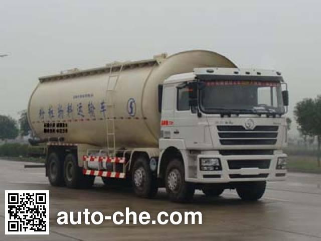 Shacman SX5316GFLNT466 low-density bulk powder transport tank truck