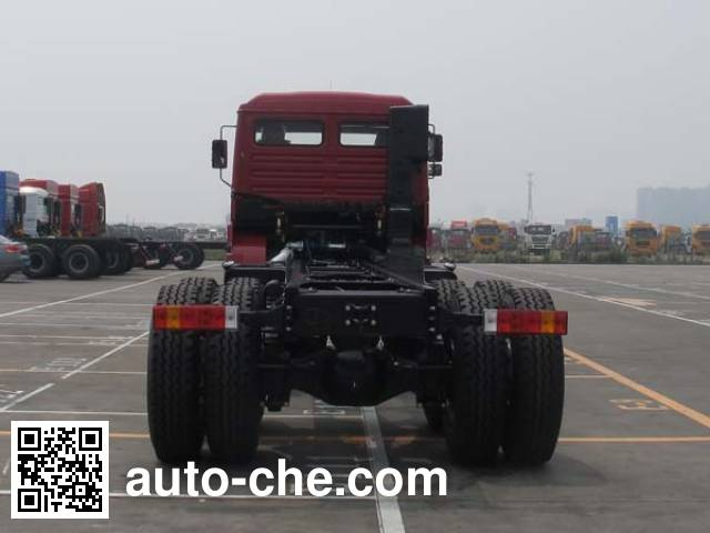 Shacman SX5316JSQDR456 truck mounted loader crane chassis