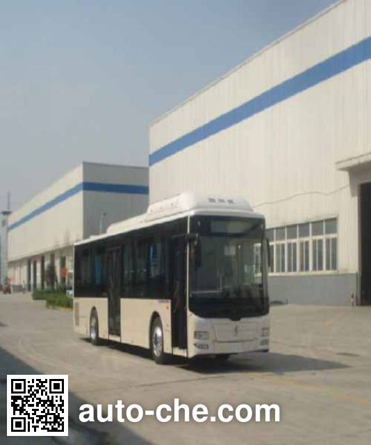 Shacman SX6120GDSHEVN hybrid city bus