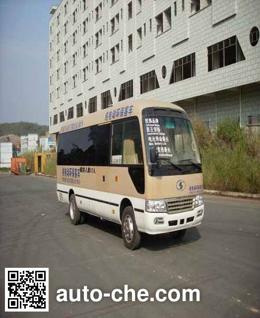 Shacman SX6700BEVS electric bus