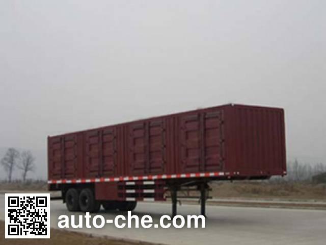 Shacman SX9200XXY box body van trailer
