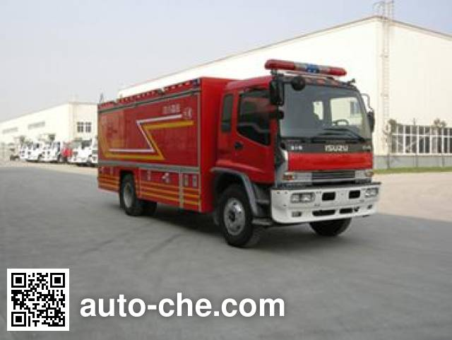 Chuanxiao SXF5130TXFGQ40W gas fire engine