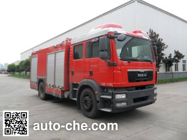 Chuanxiao SXF5170GXFPM60 foam fire engine
