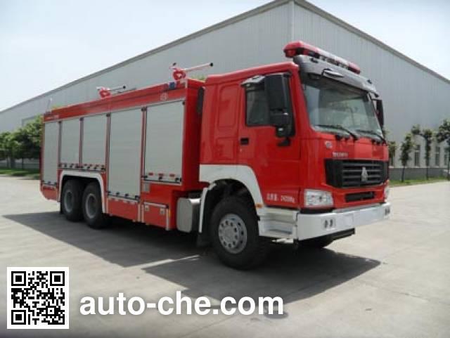 川消牌SXF5240TXFGF60干粉消防车