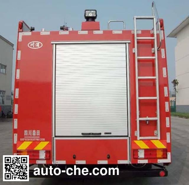 Chuanxiao SXF5280GXFPM120B foam fire engine