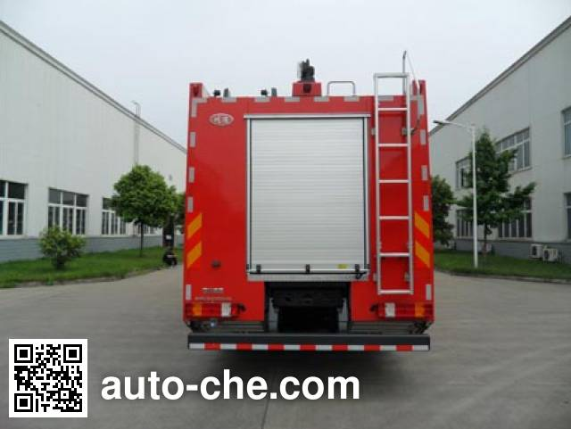 Chuanxiao SXF5380GXFGY200 liquid supply tank fire truck