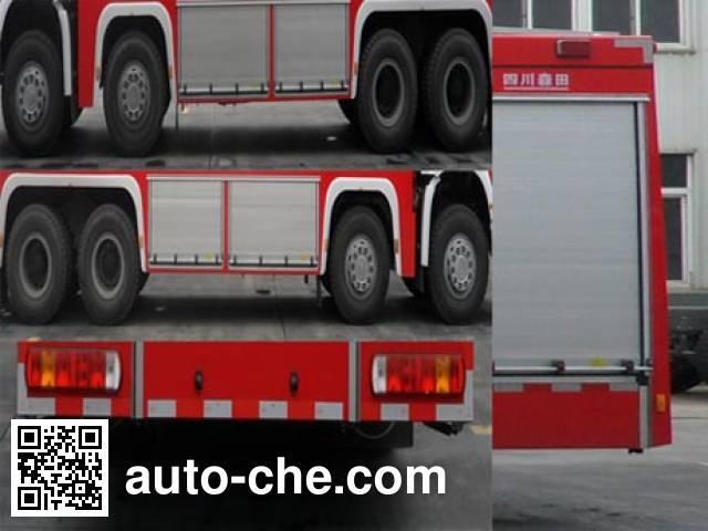 Chuanxiao SXF5430GXFPM250 foam fire engine