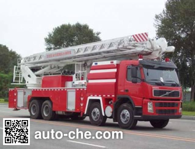 Jinhou SXT5410JXFDG40 Aerial platform fire truck on Volvo FM