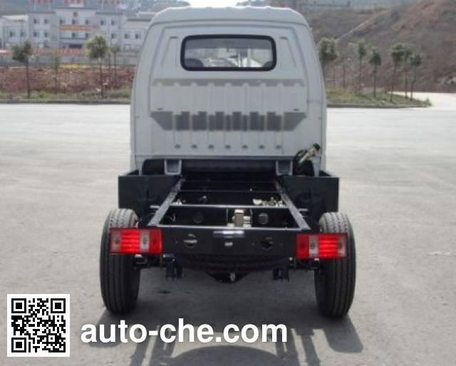 Jinbei SY1027AASX7LFL dual-fuel light truck chassis