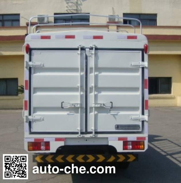 Jinbei SY2815WCS1N low-speed stake truck