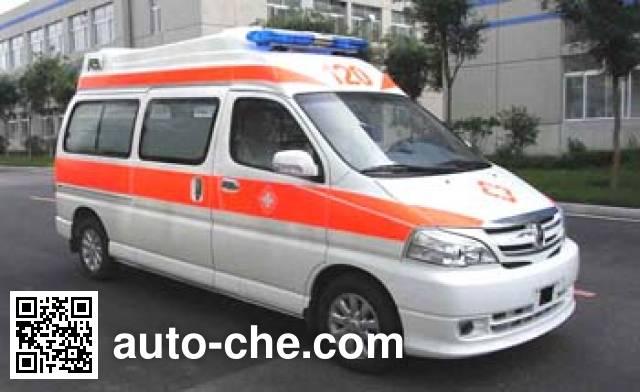 金杯牌SY5031XJHG-G2SBG救护车