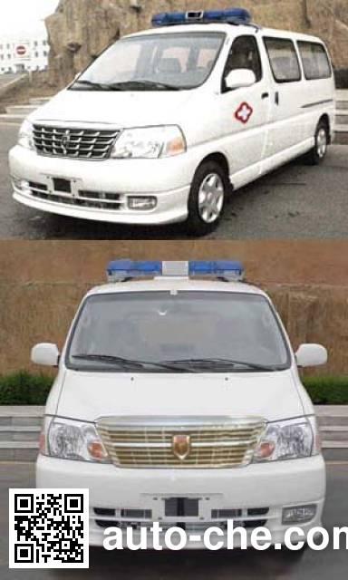金杯牌SY5031XJHL-G4S1BG救护车