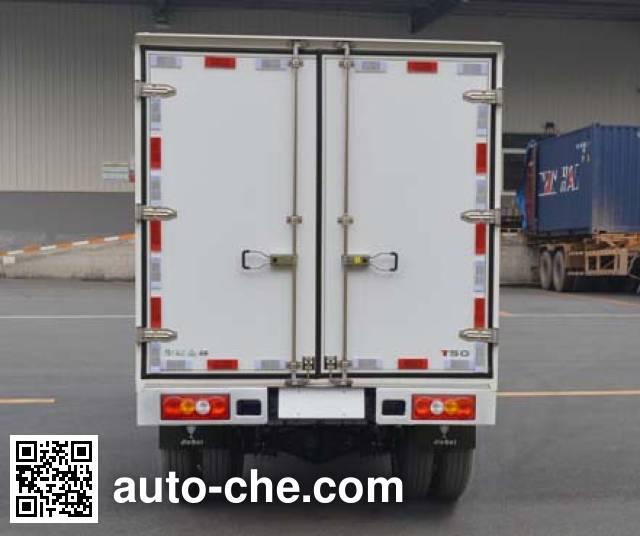 Jinbei SY5033XXY-YC6AT box van truck