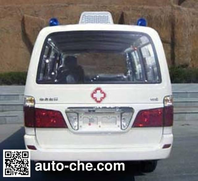 金杯牌SY5033XJH-USBH救护车