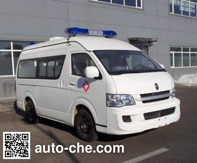 金杯牌SY5038XJH-G9S1BH救护车