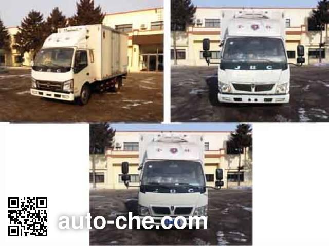 金杯牌SY5044XLCBQ-V5冷藏车