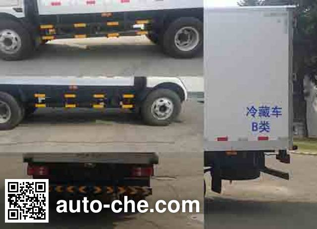 Jinbei SY5084XLCDZ5Q-R9 refrigerated truck