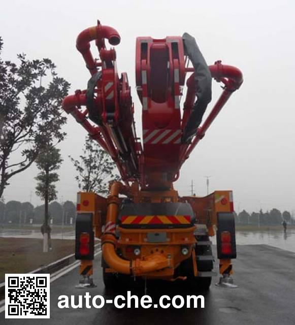 三一牌SY5413THB混凝土泵车
