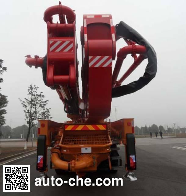 三一牌SY5541THB混凝土泵车