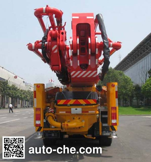 三一牌SY5631THB混凝土泵车