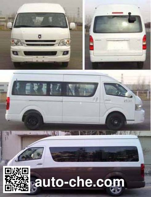 Jinbei SY6548BEVD3HB bus