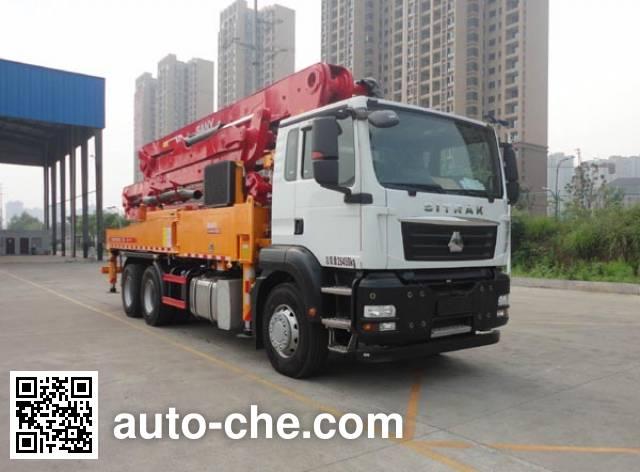 三一牌SYM5260THBDZ混凝土泵车