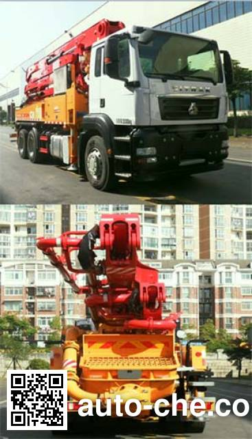 三一牌SYM5283THBDZ混凝土泵车