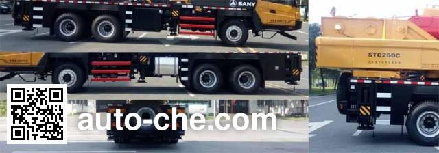 Sany SYM5295JQZ(STC250C) truck crane