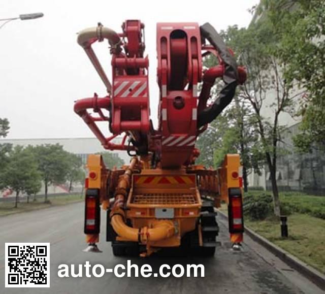 三一牌SYM5337THBDB混凝土泵车