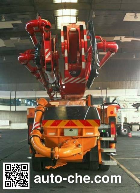 三一牌SYM5360THBDB混凝土泵车