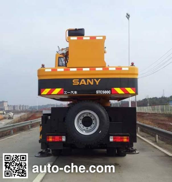 Sany SYM5414JQZ (STC500C) автокран