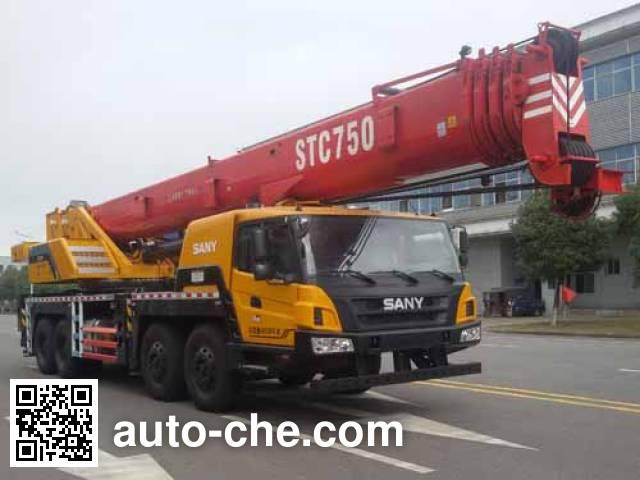 Sany SYM5444JQZ(STC750D) автокран