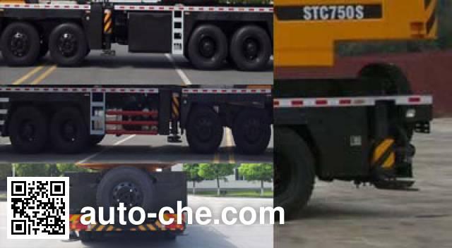 Sany SYM5454JQZ (STC750S) автокран