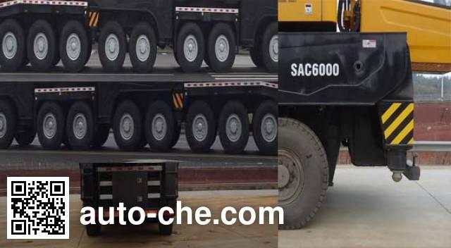 Sany SYM5725JQZ(SAC6000) all terrain mobile crane