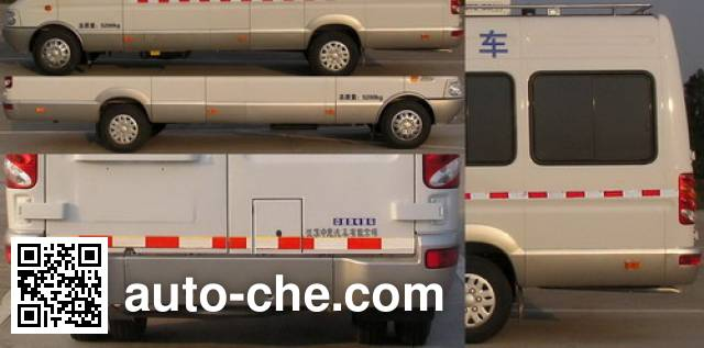 Zhongyi (Jiangsu) SZY5051XDYN мобильная электростанция на базе автомобиля