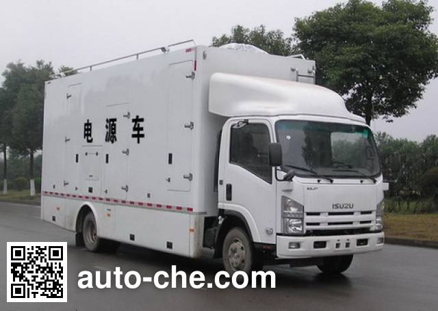 Zhongyi (Jiangsu) SZY5104XDY мобильная электростанция на базе автомобиля