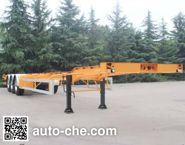 Wuyue TAZ9404TJZE container transport trailer
