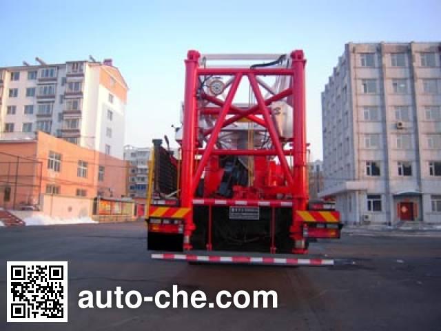 THpetro Tongshi THS5350TXJ4 well-workover rig truck