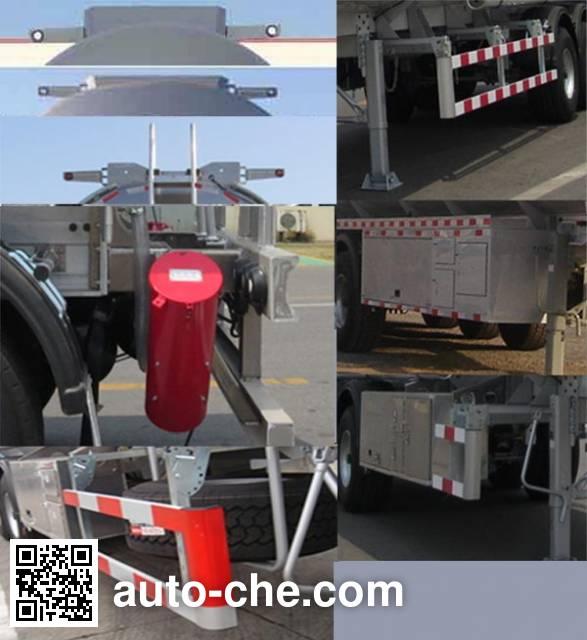 CIMC Tonghua THT9407GYYH aluminium oil tank trailer