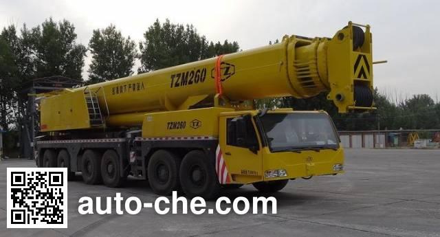 TZ (TYHI) TZH5720JQZ(TZM260) all terrain mobile crane